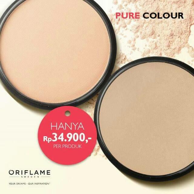 Bedak Pure Colour Oriflame - Light