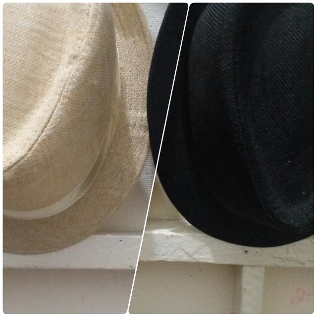 Black And White Fedora Hats