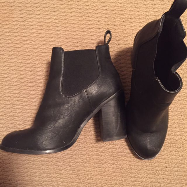 Black Boots - Size 7