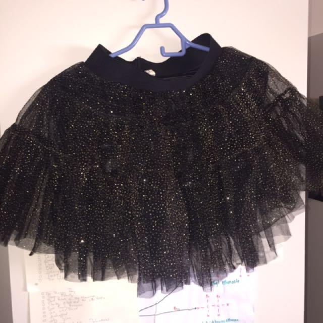 Black Sparkly Tutu