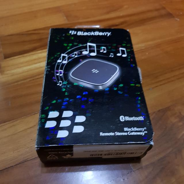 Blackberry Bluetooth Device