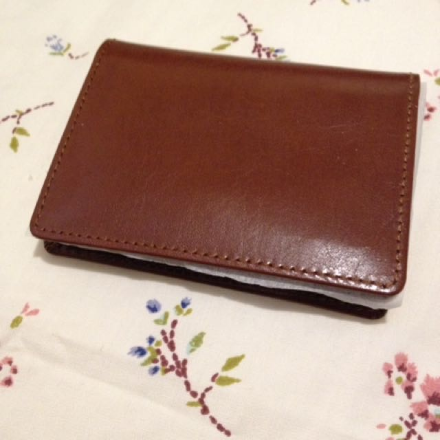Brown Wallet (mini version)