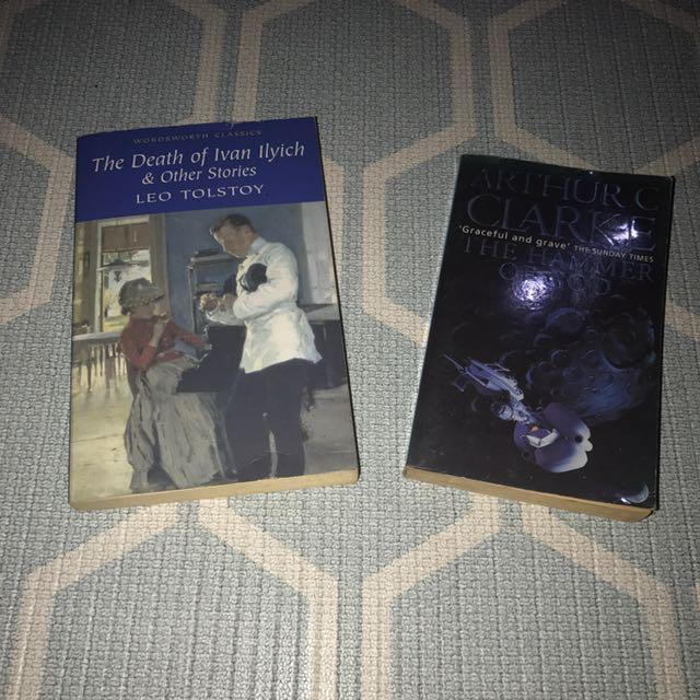 Buku Paket #4 (the Death Of Ivan Ilyoch & Other Stories By Leo Tolstoy +  Arthir C Clarke)