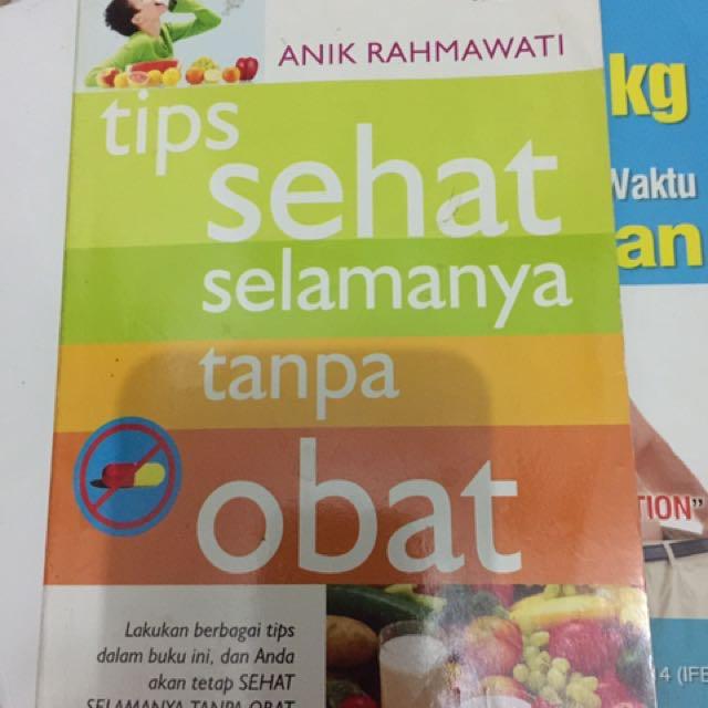 Buku Sehat Tanpa Obat