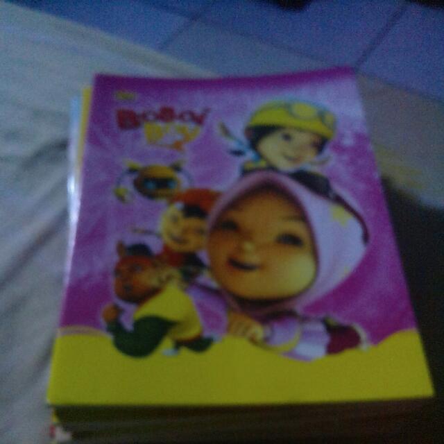 Buku Tulis Boboiboy