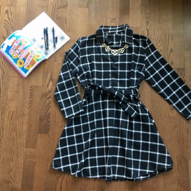 Button-Up Spring Dress
