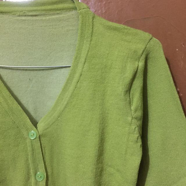 Cardigan Basic Green Avocado