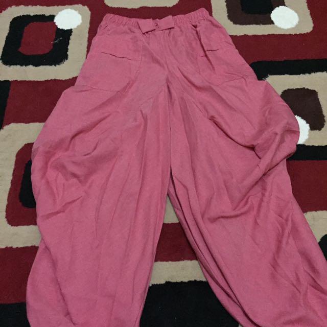 Celana Aladin (Pink)