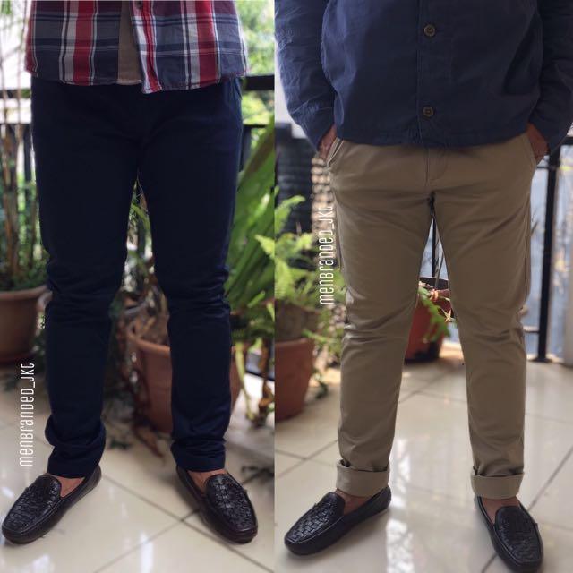 Sortendesign Skate-Schuhe bester Platz Celana Panjang Chino Mexx Slimfit Trousers, Olshop Fashion ...