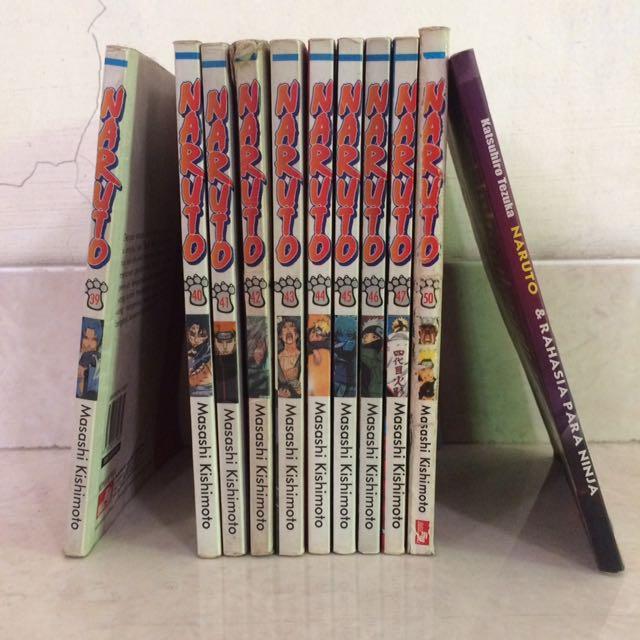 Comic Naruto 39-50