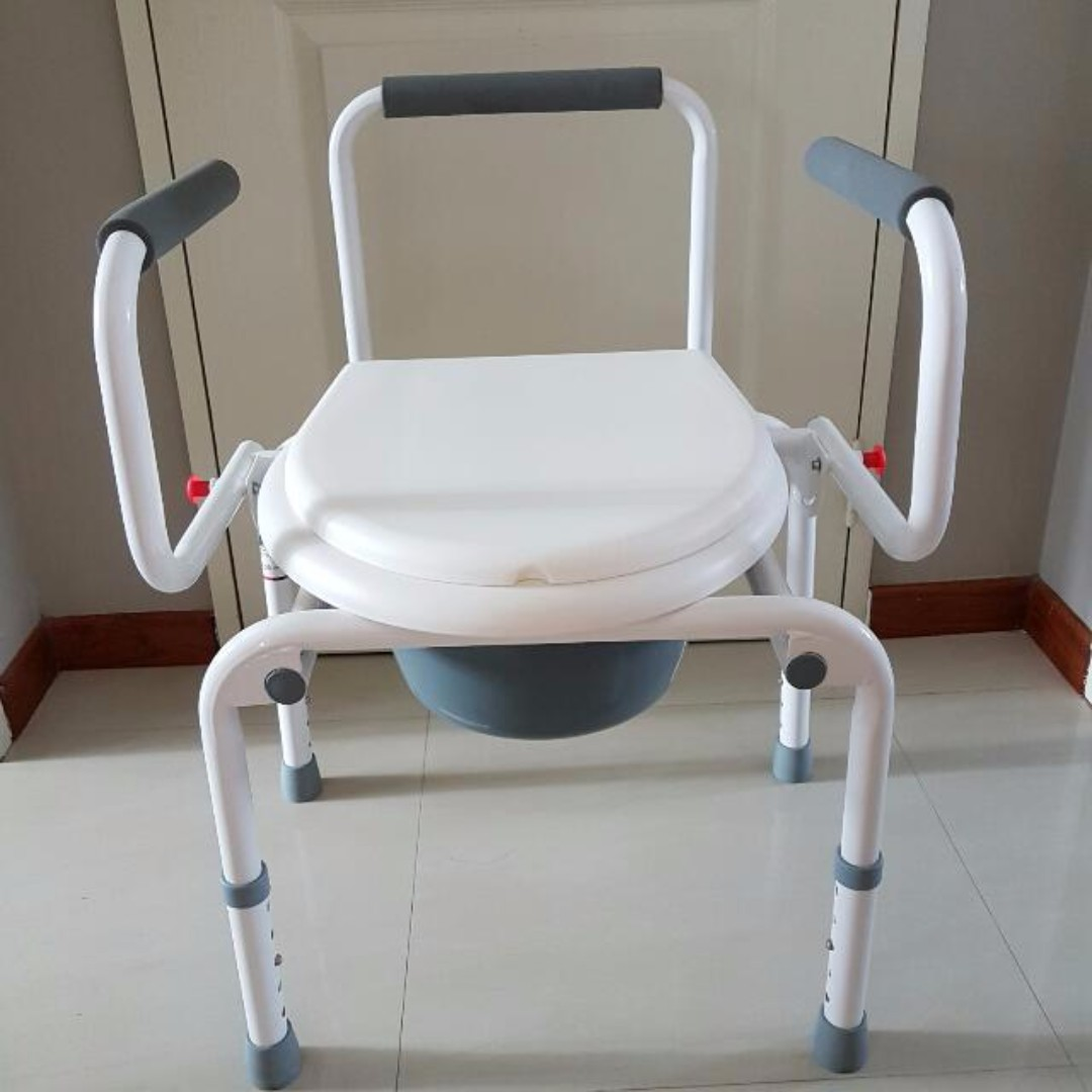 photo photo photo photo & Commode Chair / Portable Shower Chair Furniture Tables u0026 Chairs on ...