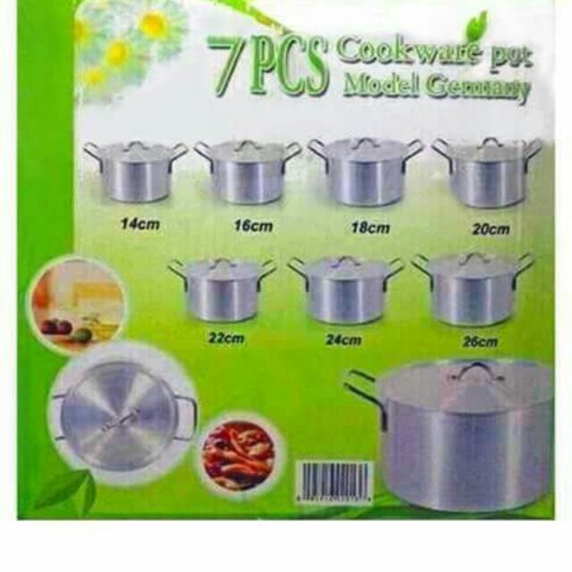 Cookware pot (7in1)
