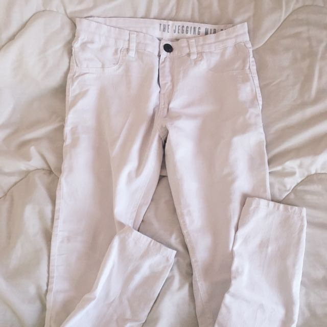 Cotto On White Jeggings
