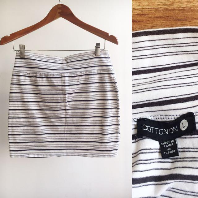 Cotton On Strech Mini Skirt