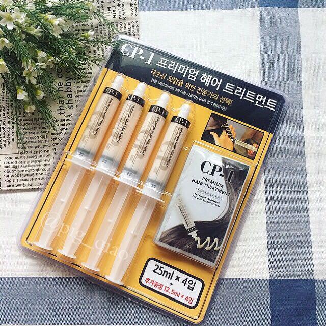 韓國CP-1 沙龍級專業蛋白急救護髮針4+4 現貨在台