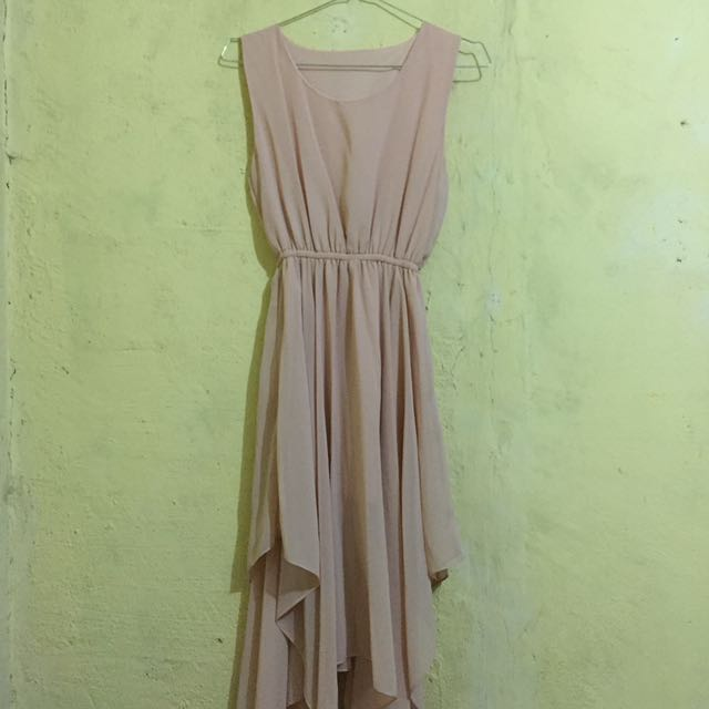 Creamy Chiffon Dress