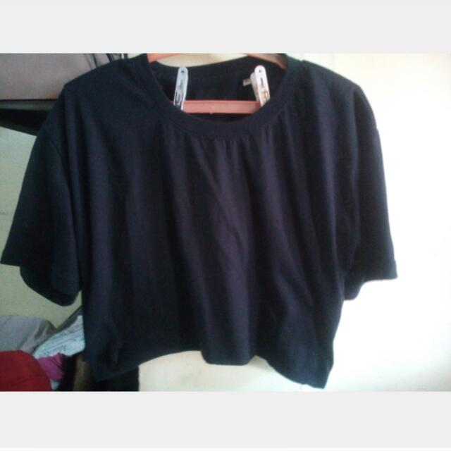 Crop Top With Free T-shirt