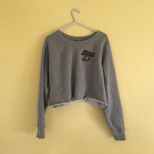 Cropped Lakers Jumper (Sweater)
