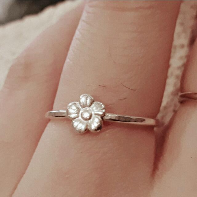 Daisy Spring 925 Sterling Silver Ring