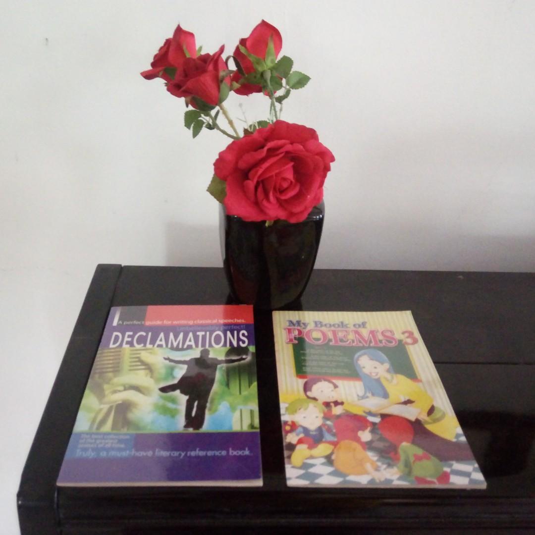 Declamations Poems Book Set