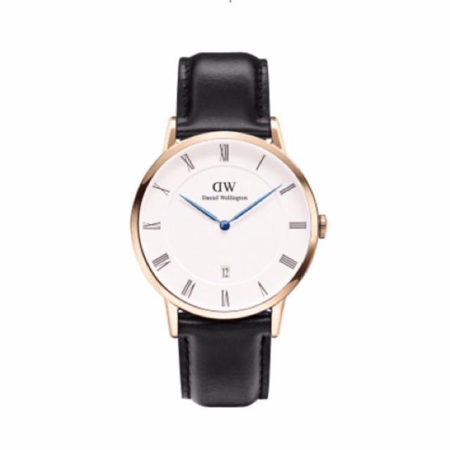 DW藍針手錶 正品
