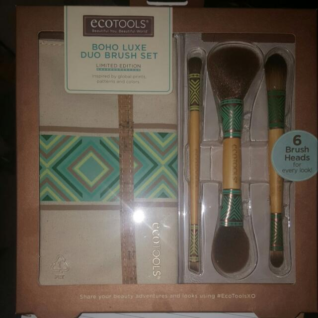 Ecotools Boho Luxe Duo Brush Set Limited Edition. Final Markdown