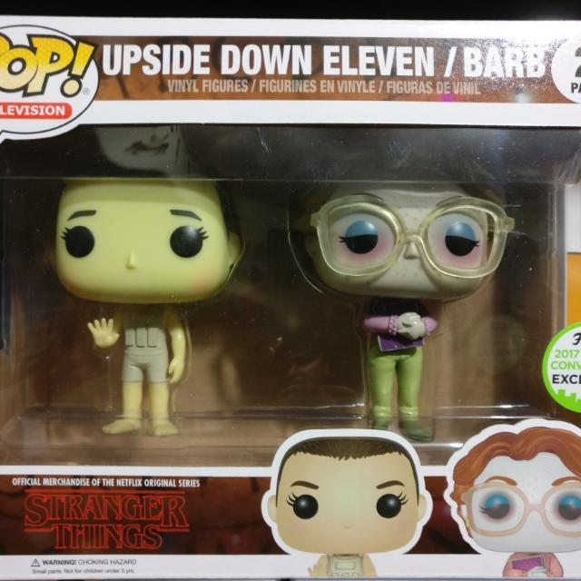 Eleven / Barb ECCC Exclusive 2-Pack Funko Pop