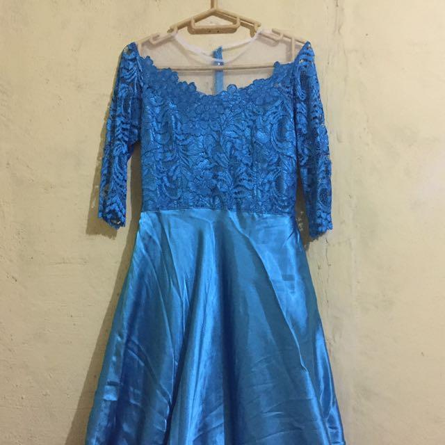 Elsa Blue Dress