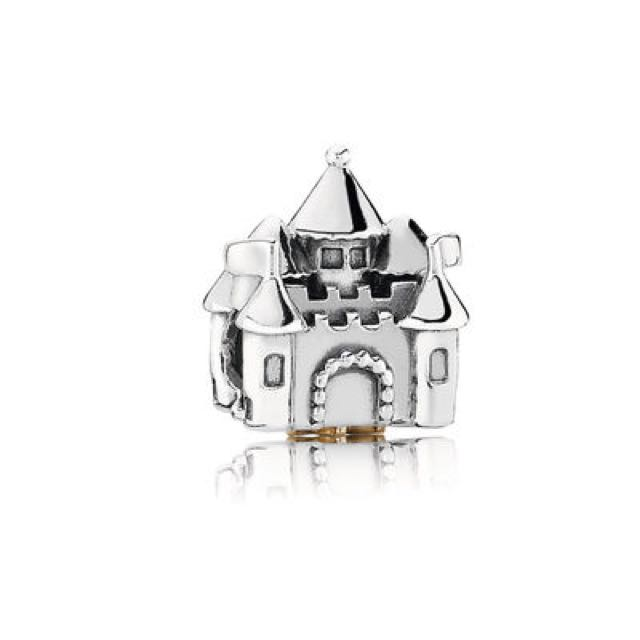 Fairytale Castle Silver and Gold Charm - PANDORA