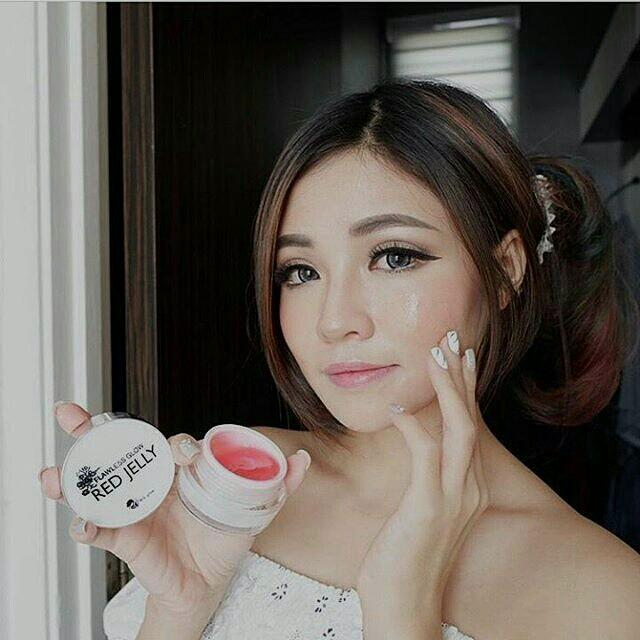 FLAWLESS GLOW RED JELLY MS GLOW BY CANTIK SKINCARE / RED JELLY MS GLOW, Health & Beauty, Skin, Bath, & Body on Carousell