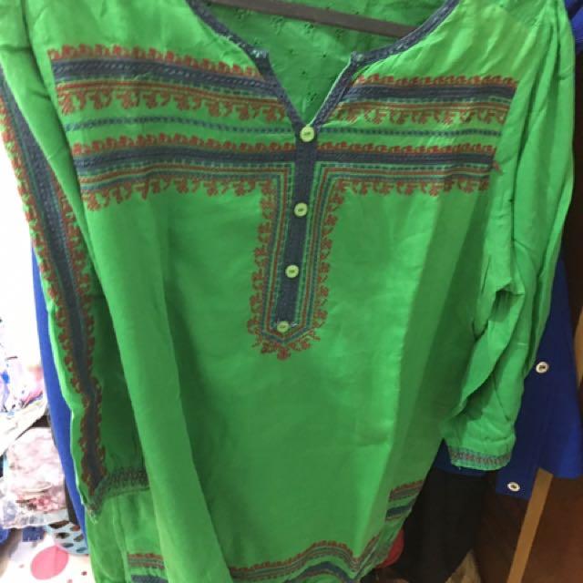Green Tunik