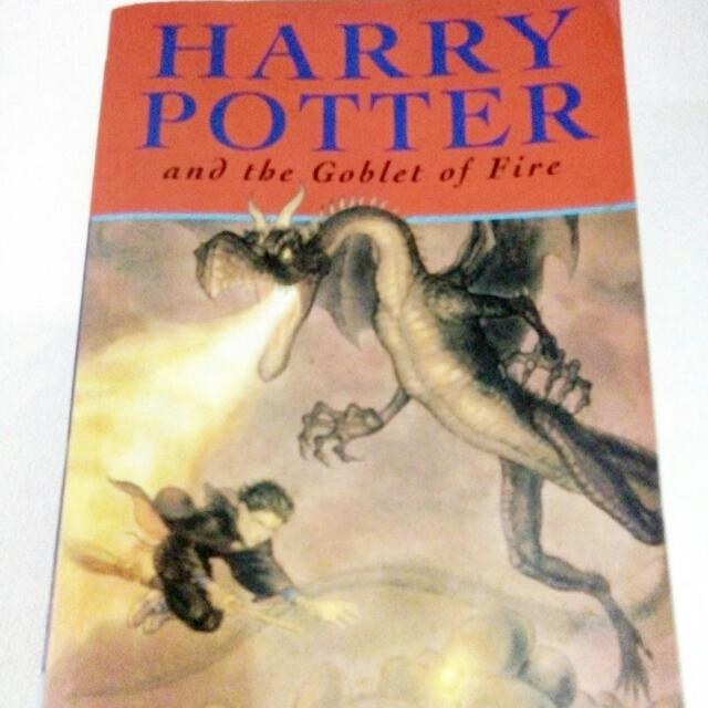 Harry Potter And The Goblet Of Fire (Bloomsburry)