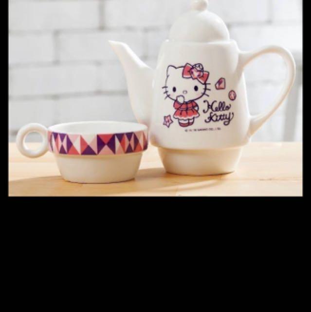Hello Kitty華麗變身杯壺組