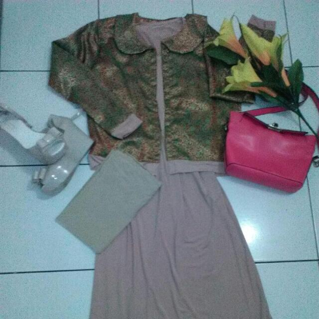 Hijaber Songket Dress