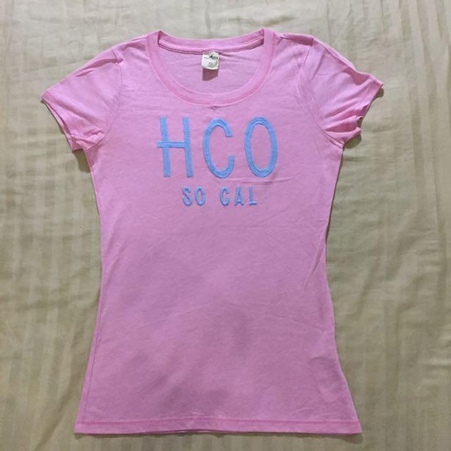 Hollister💗粉紅T Shirt