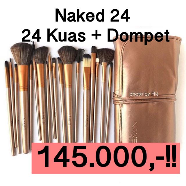(isi 24!) Naked + Dompet