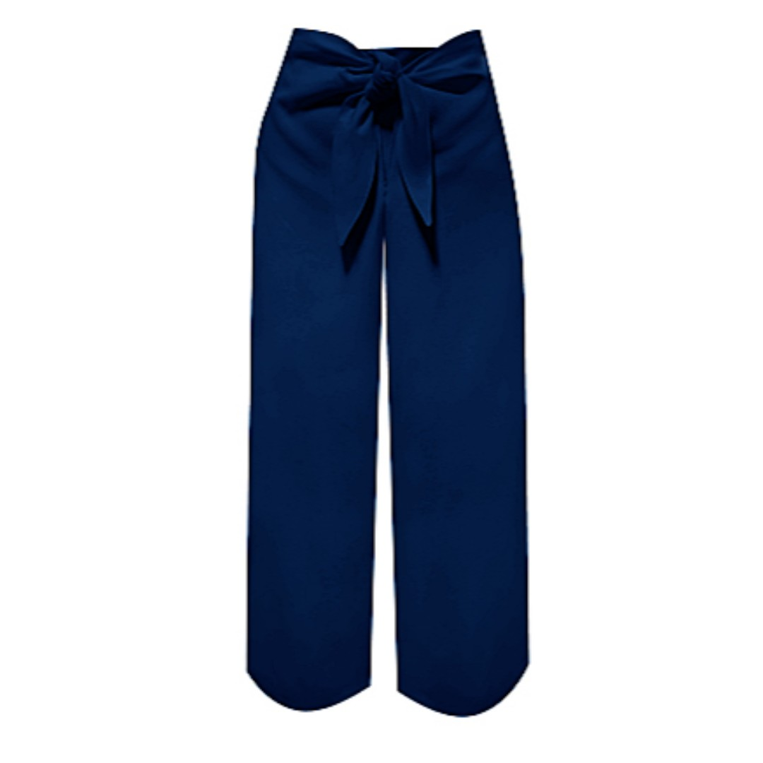 Kamiseta Pants w/ Side Zipper and Front Knot (Small)