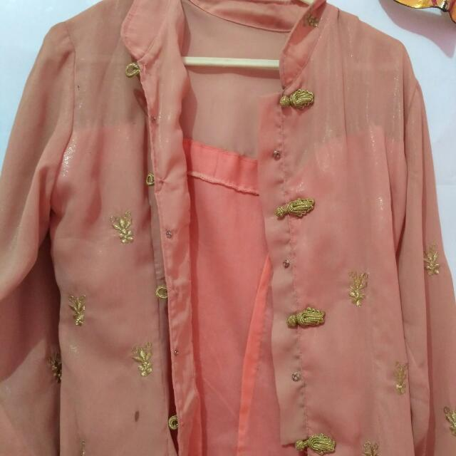 KEBAYA PEACH KARTINI