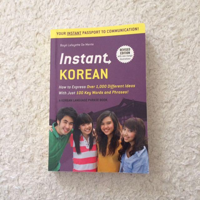 Korean Language Book