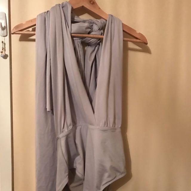light Grey Bodysuit