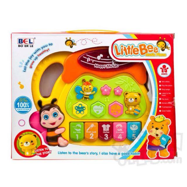 Litlle Bee Music Piano/Mainan Edukasi