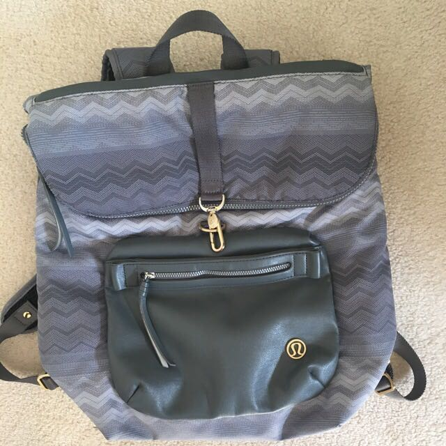 "Lululemon ""kickin' it"" backpack"