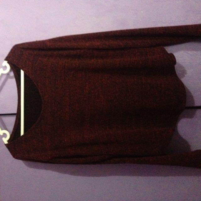 Maroon Pullover