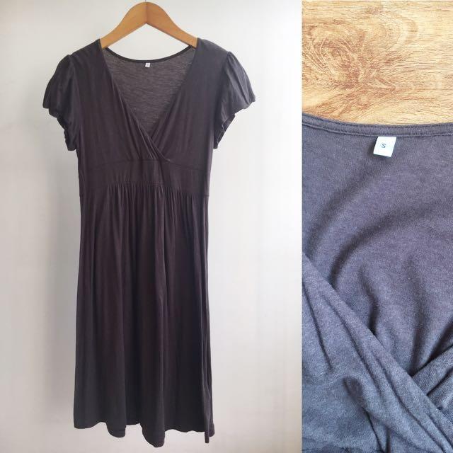 Muji Midi Dress