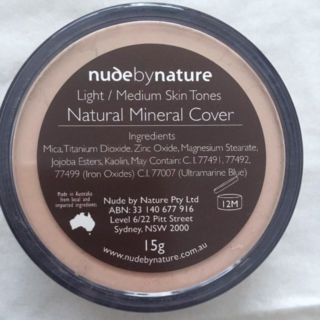 Natural Mineral Cover Foundation [NudeByNature]
