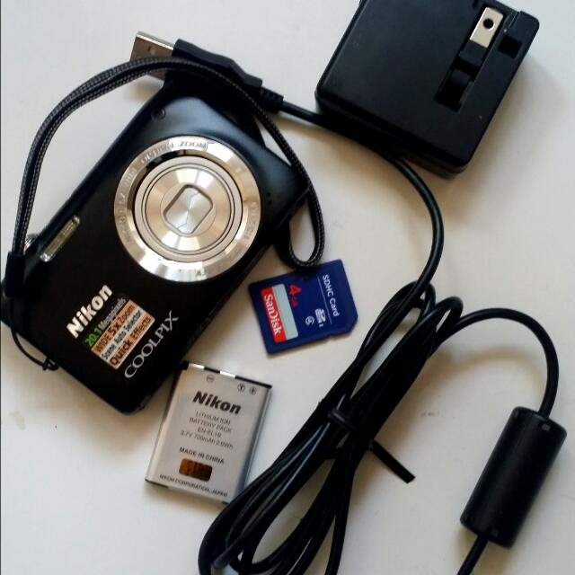 Nikon 20mp Digital Camera