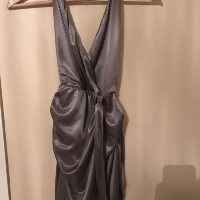 OH POLLY SILK DRESS MINI