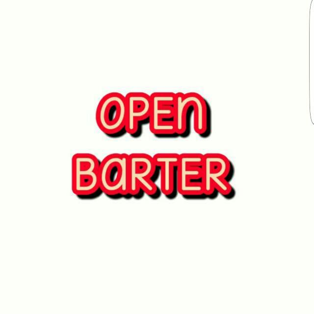 Open Barter Yak Sisayy..  Apa Aja Boleh..tawarin Aja Dulu..pasti Dijawab..aku Ga Judes Kok.. Klo Sama2 Suka Tunggu Apalagi..yuks Barter😍😍
