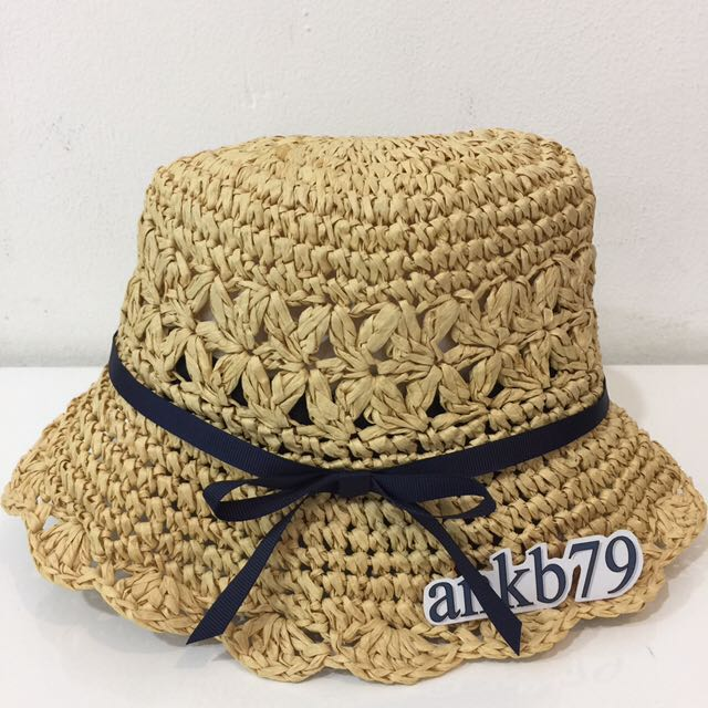 Ori Authentic Bought In Japan Girl Straw Hat