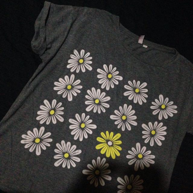 Penshoppe Flower Tshirt